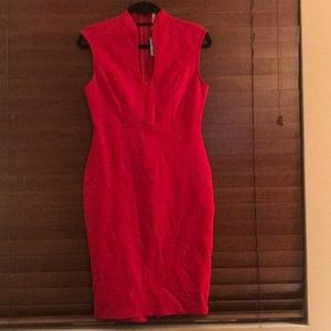 Brand new bright red dress